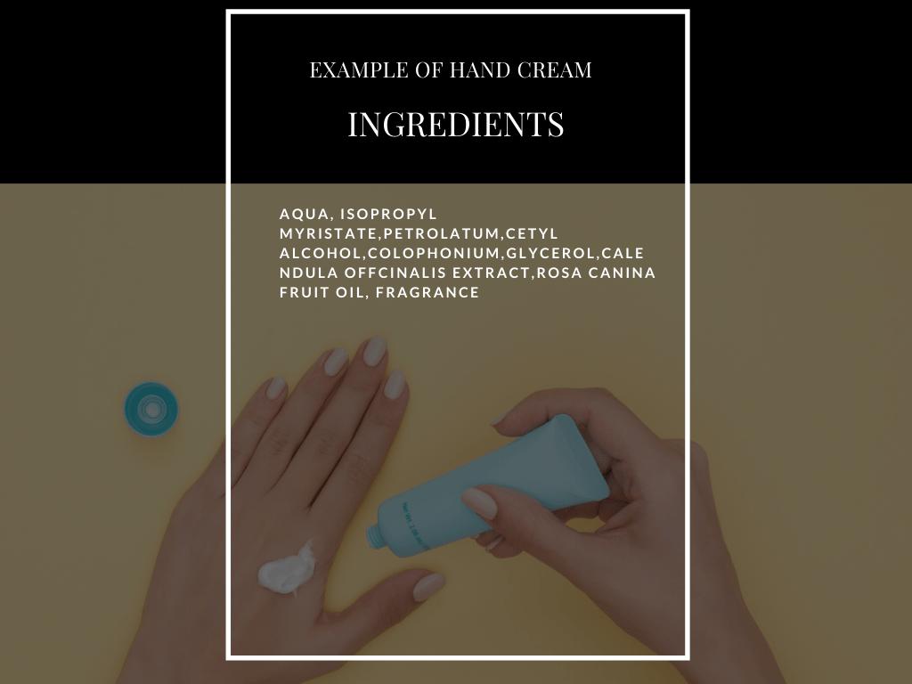 toxic ingredients example