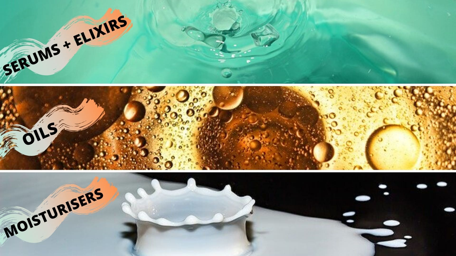 serum elixir oil moisturizer